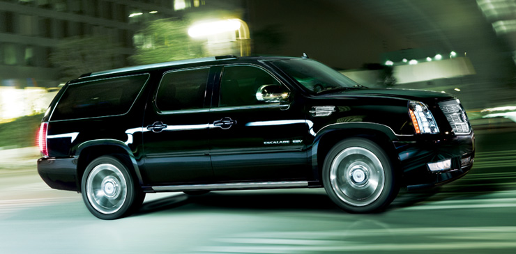 Executive SUV rental Vancouver